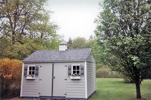 10' X 12' Shed with Standard Walls
