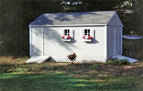 10' X 16' Shed with Standard Walls