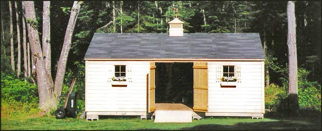 Custom Storage Sheds in Southern Maine